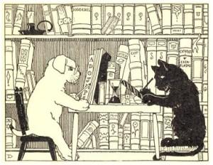 Жили-были Кот и Пес
